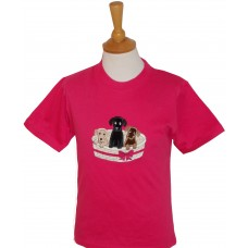 Basket of Puppies T-shirt
