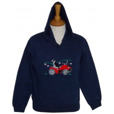 Quad Bike and Collie hoodie