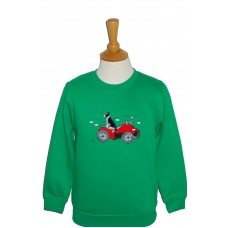 Quad Bike and Collie Sweatshirt