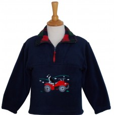 Quad Bike and Collie Fleece Jacket