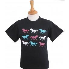 Rainbow Horses Children's T-shirt
