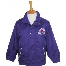 Rosette Pony Fleece Lined Jacket