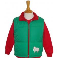 Sheep applique Gilet