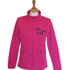 Silhouette Ponies Microfleece Jacket