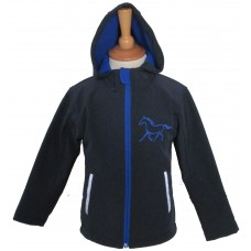Silhouette Ponies Ladies Soft Shell Jacket