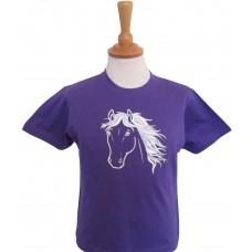 Silver Children's T-shirt DENIM BLUE