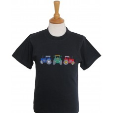 Three Tractors T-shirt