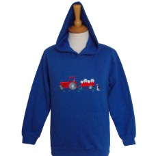 Tractor and Sheep Hoodie
