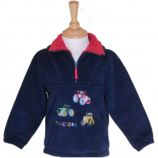 Tractors Fleece Jacket