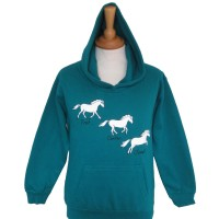 Trot Canter Jump Children's Hoodie