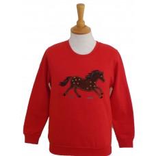 Truffle childrens sweatshirt red