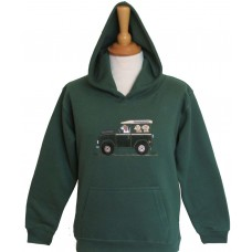 Offroader & Dogs Hoodie