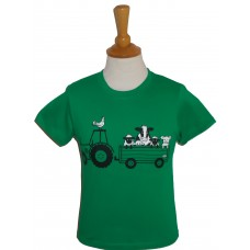 Tractor and Trailer children's T-shirt